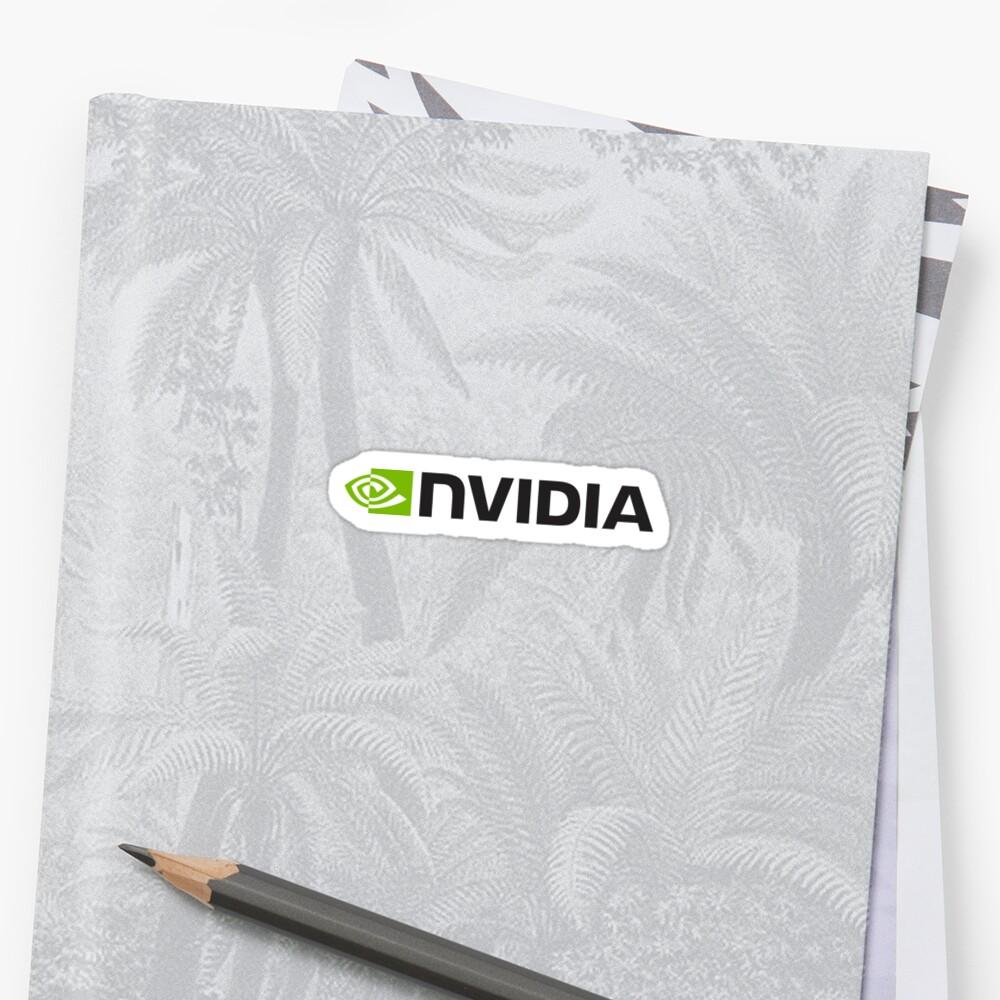 Nvidia Logo Merchandise Sticker