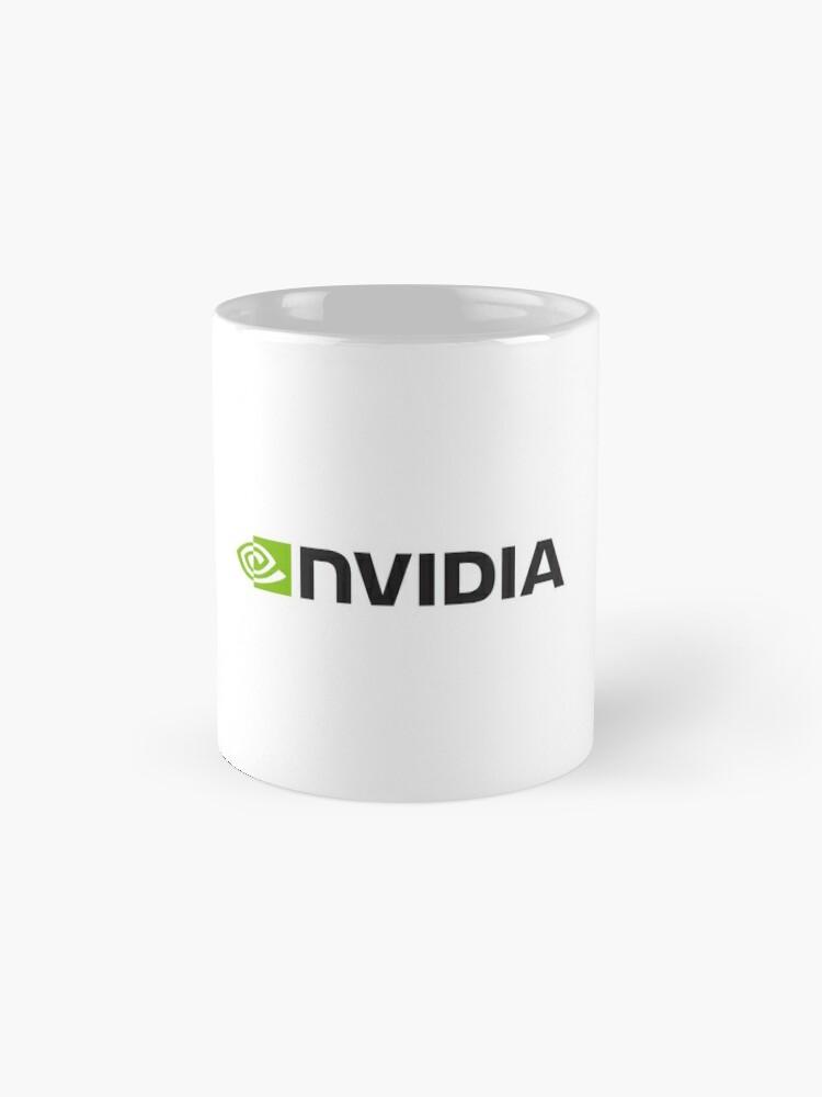 Alternative Ansicht von Nvidia Logo Merchandise Tasse