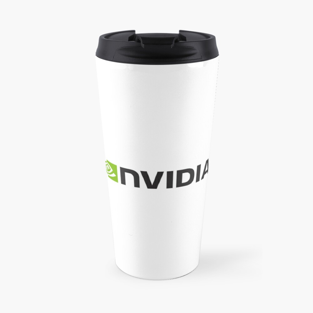 Nvidia Logo Merchandise Thermobecher