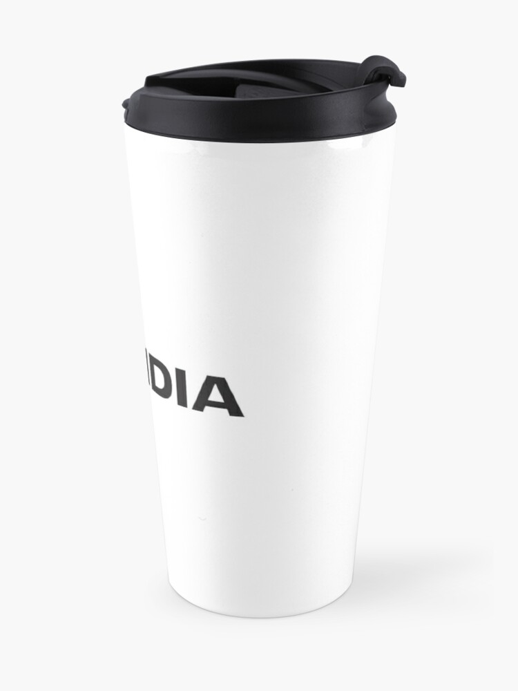Alternative Ansicht von Nvidia Logo Merchandise Thermobecher