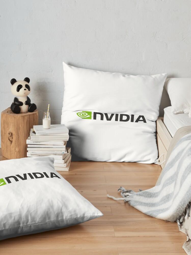 Alternative Ansicht von Nvidia Logo Merchandise Bodenkissen