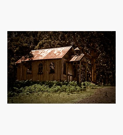 Ricketty Church Photographic Print