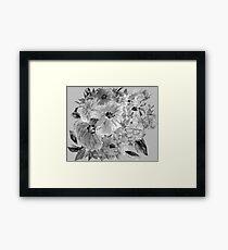 Mountain Flowers 3 Framed Print