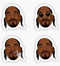 Snoop Dogg art expressions Sticker