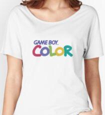 Nintendo Game Boy Merchandise Women's Relaxed Fit T-Shirt