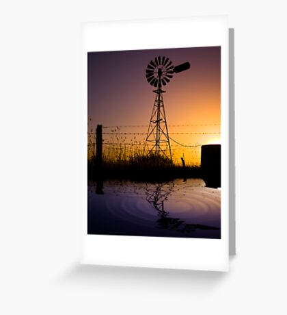 The Great Aussie Windmill Greeting Card