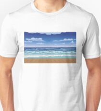 Jetty and sea Unisex T-Shirt