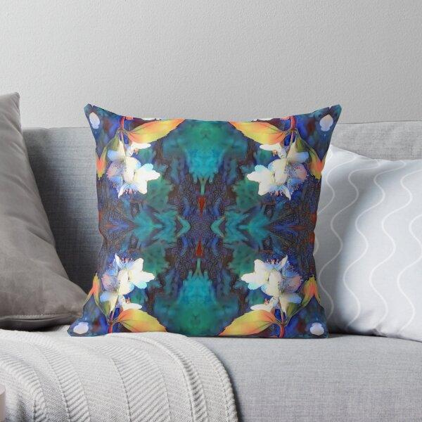 Anemone Flowers Throw Pillow