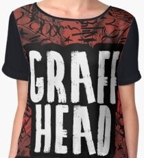 GRAFF HEAD Graffiti Artist || Tank Tops, Leggings, Drawstring Bags, Mugs, Pillows and more! Chiffon Top