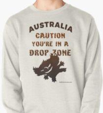 Australia Caution Drop Bear Zone Pullover