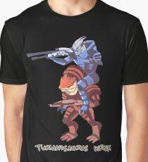 Turianosaurus Wrex Graphic T-Shirt