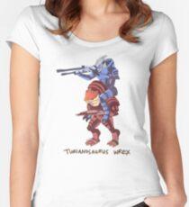 Turianosaurus Wrex Women's Fitted Scoop T-Shirt