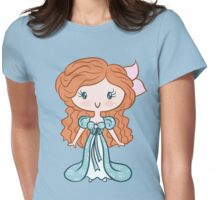 Lil' CutiE - Curtains Princess Womens Fitted T-Shirt