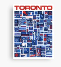 Totally Toronto Poster and T Shirt Canvas Print