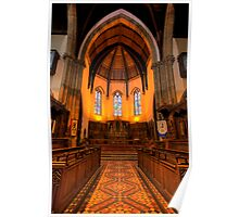 Inverness Cathedral Choir and Altar Poster