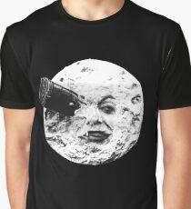 Eine Reise zum Mond (Le Voyage Dans La Lune) - nur Gesicht Grafik T-Shirt