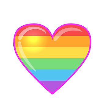RAINBOW HEART by varka