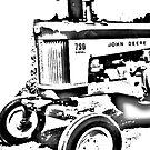 1960 John Deere 730 diesel bywhacky by bywhacky