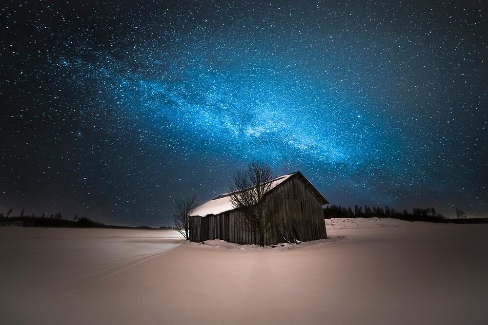 Gold light by Mika Suutari