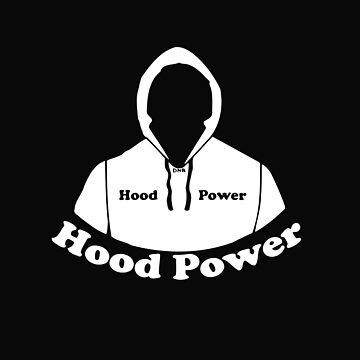 Hood Power Comic Book Cartoon Style Graphic by MainBrainWorks
