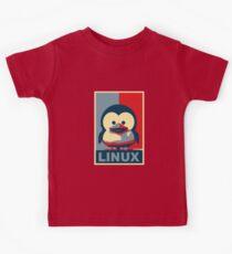 Linux Baby Tux Kids Tee