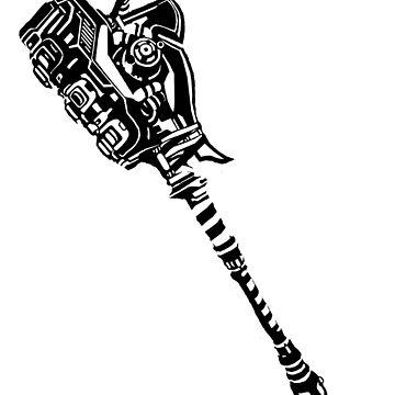 Gravity Hammer Print by Sir-Jamus