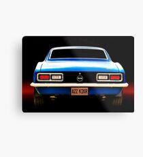 1968 Camaro Super Sport Metal Print