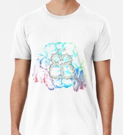 Rainbow Flower #RBSTAYCAY Männer Premium T-Shirts