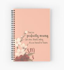Shawn mendes Spiral Notebook