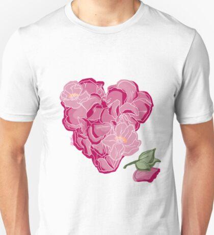 Blumenherz T-Shirt