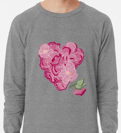 Blumenherz Leichtes Sweatshirt