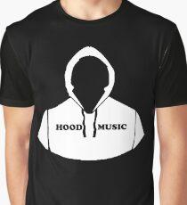 Hood Music Comic Book Cartoon Style Graphic Graphic T-Shirt