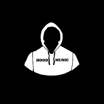 Hood Music Comic Book Cartoon Style Graphic by MainBrainWorks