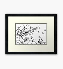 Flavored Eyes? Framed Print
