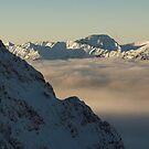 Bavarian Alps above the Clouds by Hugh Chaffey-Millar