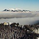 High above Garmisch-Partenkirchen by Hugh Chaffey-Millar
