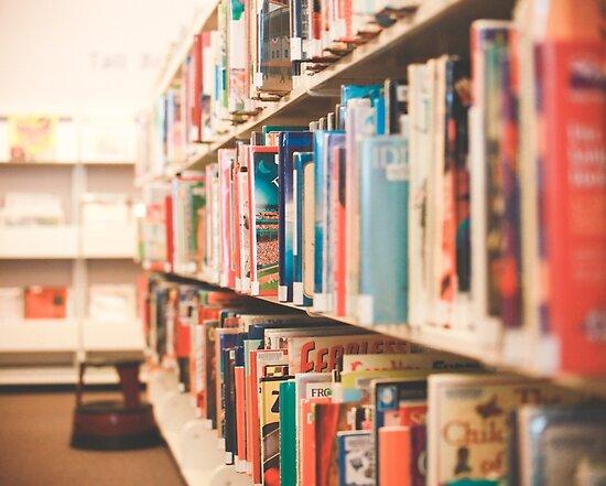 Library Time by Debbra Obertanec