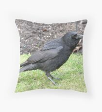 Corvid Throw Pillow