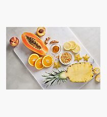 Rainbow Foods - Orange and Yellow Photographic Print