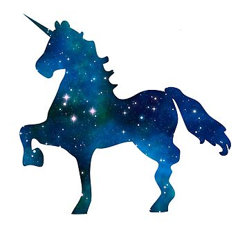 Magic Galaxy Unicorn Universe by mazemischief