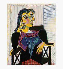Lámina fotográfica Retrato de Dora Maar-Pablo Picasso