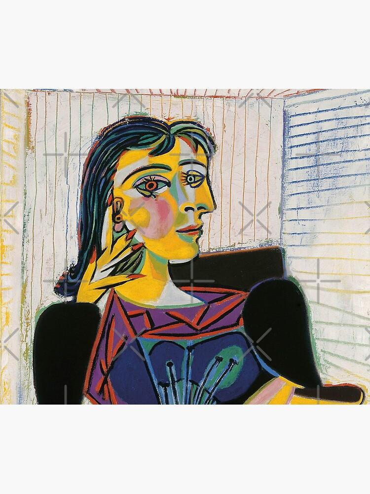 Porträt von Dora Maar-Pablo Picasso von LexBauer