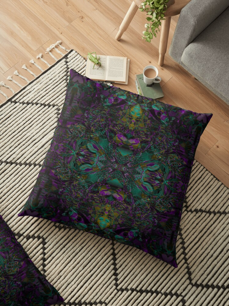 Purple And Jade by Elizabeth Austin-Craig