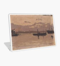 Santiago Rusiñol - Sketch of a Port 1888-90 Laptop Skin