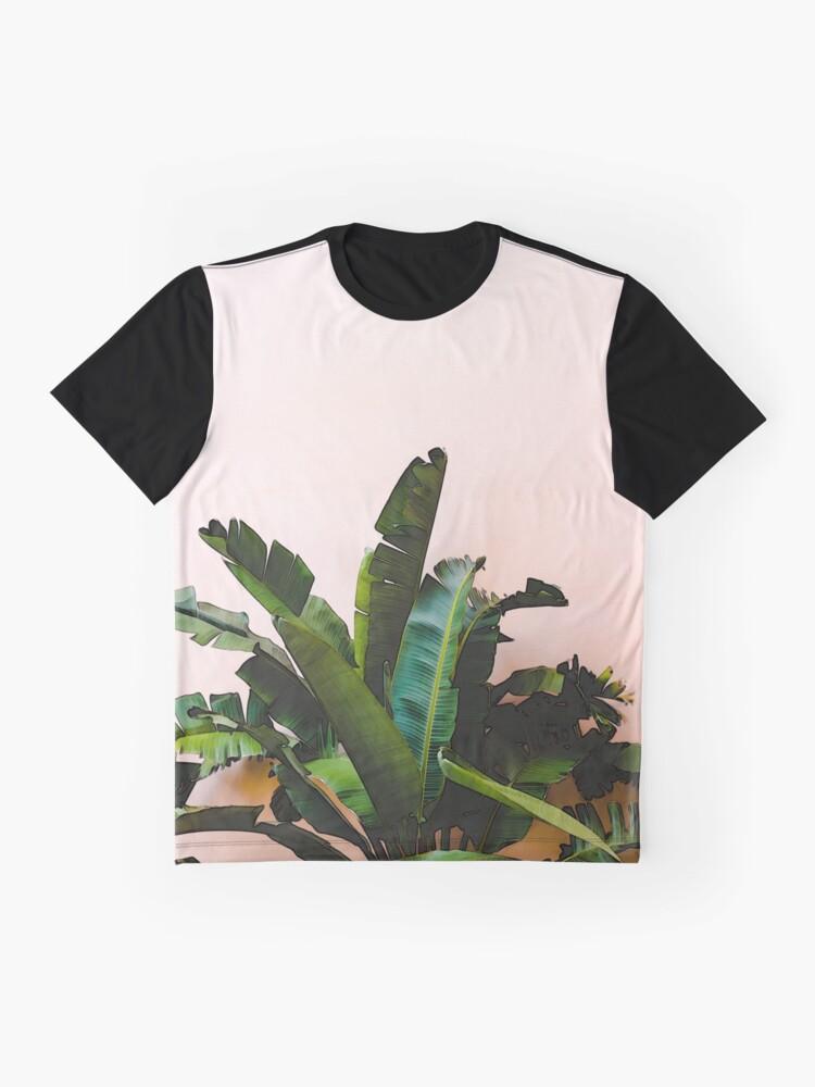 Alternative Ansicht von Blatt Grafik T-Shirt