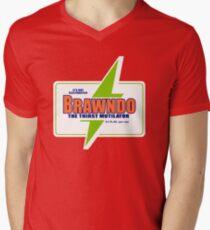 BRAWNDO Vintage Men's V-Neck T-Shirt