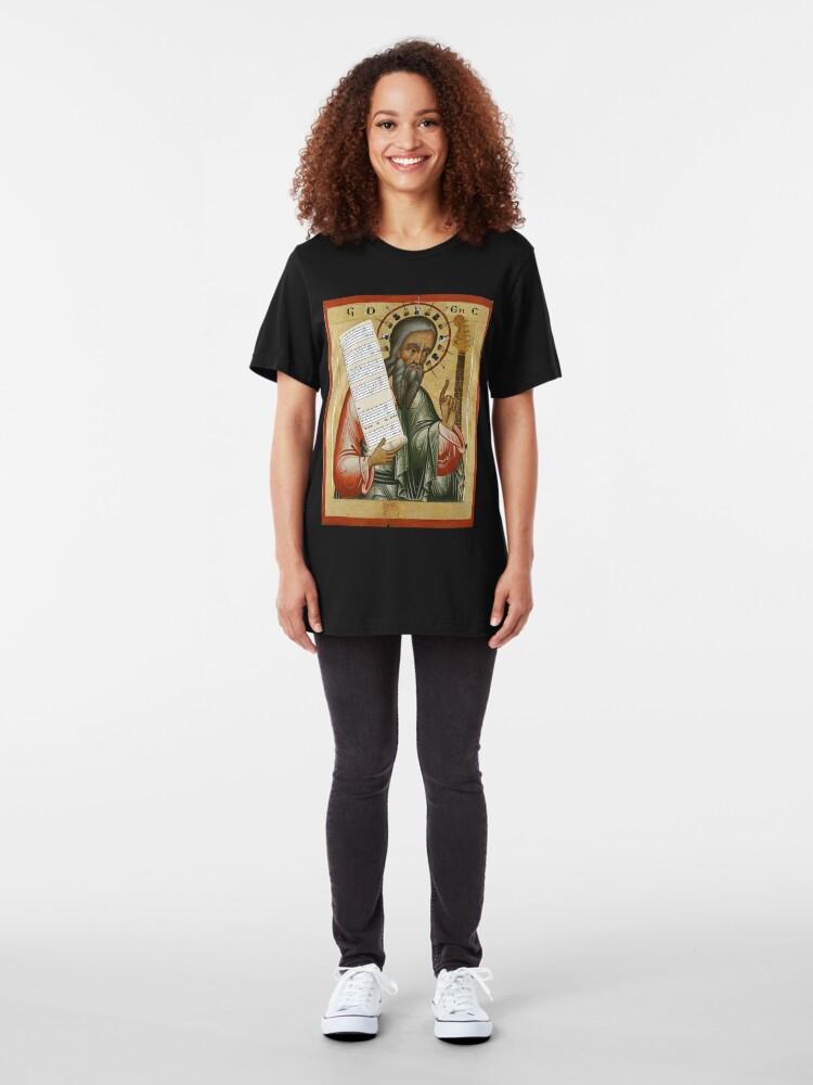 Alternate view of Ezekiel Brings us Guitar Slim Fit T-Shirt