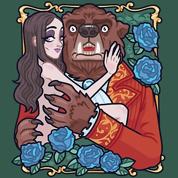 Beauty and the beast by oneappleinbox