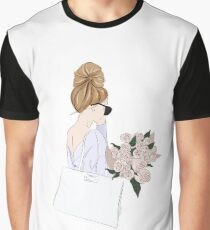Girl with bouquet Graphic T-Shirt