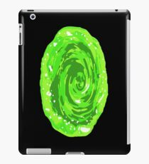 Rick and Morty interdimensional portal iPad Case/Skin